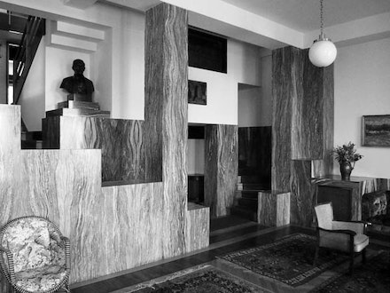 Adolf Loos, Villa Müller, Prague, completed in 1930