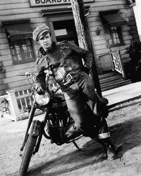 Marlon Brando in <em>The Wild One</em>, Columbia Pictures 1953.
