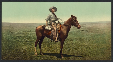 Cowboy, Western United States, c.1900. Library of Congress Prints and Photographs Division.
