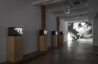<em>Ugo Rondinone: I ♥ John Giorno</em> | Andy Warhol: SLEEP AND OTHER WORKS, installation view. Photo by Daniel Perez.