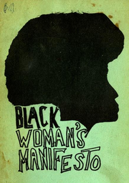 Cover of <em>Black Woman&#146;s Manifesto</em>, New York: Third World Women's Alliance, ca. 1970-75.