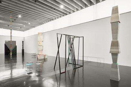 Eva Rothschild, <em> Alternative to Power </em>- Installation image 1. Installation view New Art Gallery Walsall, 2016. Courtesy The artist, Stuart Shave / Modern Art &amp; The Modern Institute / Toby Webster.