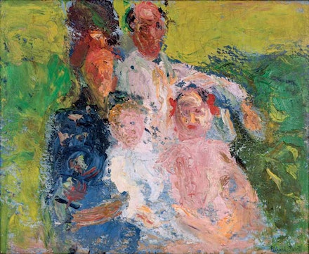 Richard Gerstl (1883-1908) <i>The Schoenberg Family</i>, late July 1908, Oil on canvas, Museum moderner Kunst Stiftung Ludwig Wien, Gift of the Kamm Family, Zug 1969