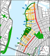 <i>Proposed public access to the East River waterfront. www.nyc.gov/planning.</i>