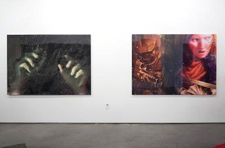 Lucie Stahl, <em>End of Tales</em>, installation view. Courtesy of Freedman Fitzpatrick, Los Angeles.