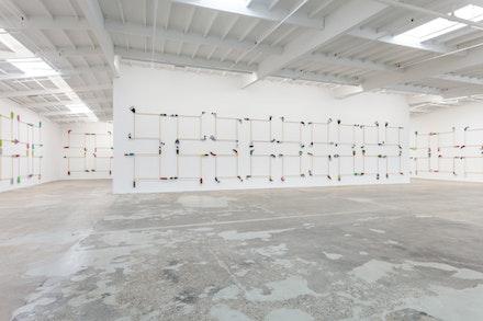 Maccarone Gallery LA, Installation 2017.