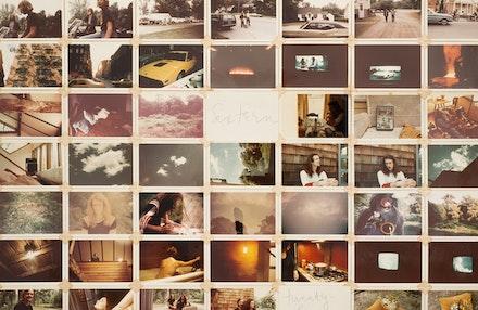 <p>Bernadette Mayer, <em>Memory</em>, 1972 (2017 reinstallation), Detail. Image courtesy of CANADA, LLC.</p>