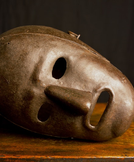 Andres Serrano, <em>Fool's Mask IV, Hever Castle, England (Torture)</em>, 2015. Courtesy of the artist.