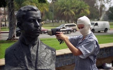 Sandra de la Loza, <em>The Pocho Research Society for Erased and Invisible History,</em> 2002.