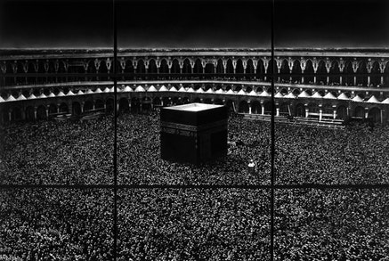 Robert Longo, <i>Untitled (Mecca)</i>, 2010. Charcoal on mounted paper, 166 x 252 in. &copy; Robert Longo, Private Collection. Courtesy the artist and Galerie Thaddaeus Ropac; London, Paris, Salzburg.
