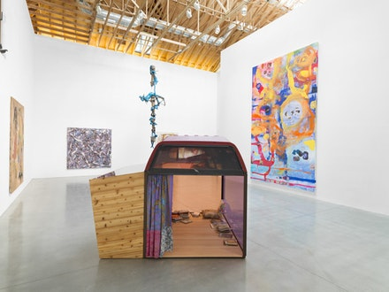 Installation view of <i>Animal Farm</i>. Curated by Sadie Laska, 2017. The Brant Foundation Art Study Center, Greenwich, CT. Photo: Christopher Burke.