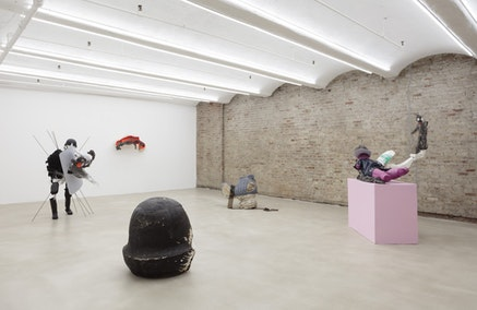 Andrew Ross, <em>Iceman Returns</em>, Installation View. Courtesy the artist and American Medium.