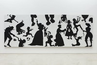 Kara Walker, <em>Slaughter of the Innocents (They Might be Guilty of Something)</em>, 2017. Cut paper on canvas, 79 x 220 inches. © Kara Walker, courtesy of Sikkema Jenkins & Co., New York.
