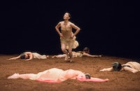 Tanztheater Wuppertal Pina Bausch, <i>The Rite of Spring</i>. Photo: Stephanie Berger