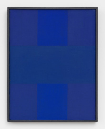 <p>Abstract Painting, Blue (1952), Oil on canvas, 18 x 14 inches (45.7 x 35.5 cm) Private Collection © 2017 Estate of Ad Reinhardt/ Artists Rights Society (ARS), New York. Courtesy David Zwirner, New York/London</p>