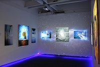 Installation view of FIAT#LUX. Courtesy the artists and Agora.