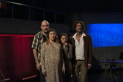 Luis Moreno, Tania Molina, Laura Butler Rivera, David Skeist in&nbsp;Caborca&#146;s <em>Distant Star.&nbsp;</em>Written by Javier Antonio Gonz&aacute;lez,&nbsp;Directed and Co-Conceived by Milikowsky,&nbsp;Based on the novel by Roberto Bola&ntilde;o.&nbsp;Photos by Marcos Toledo