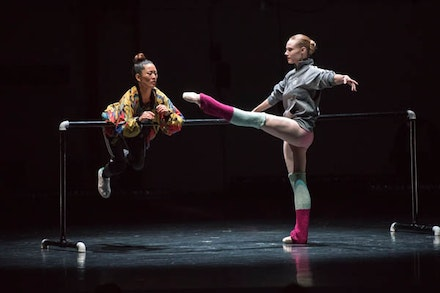 Honji Wang and Sara Mearns in <em>No. 1.</em> Photo by Stephanie Berger.
