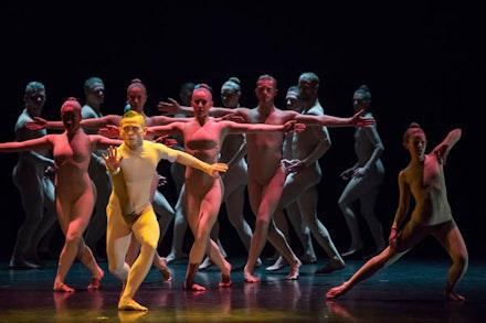 Ballet BC in <em>Bill</em>. Photo by Stephanie Berger.
