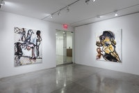 Tsibi Geva, <em>Jolt</em>. Installation view. Courtesy Albertz Benda.