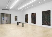 Exhibition view. Courtesy Eva Presenhuber, New York.