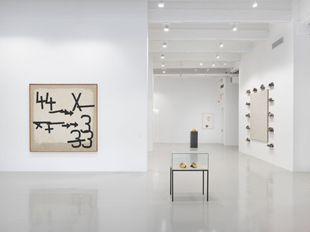 Installation shot of <em>Arte Povera</em>. Courtesy Hauser & Wirth.