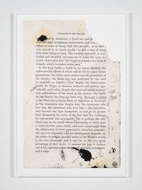 Glenn Ligon, <em>Untitled, </em>2016, Archival pigment print, Edition 1/5, 180.3 x 124.5 cm. Courtesy Samsøñ Projects.