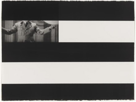 Annette Lemieux, <em>Censor (A)</em>, 1994.