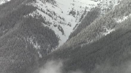 Laura F. Gibellini. <em>3 Sulphur. Cloud 4</em>, 2017. Still of a video in progress shot at The Banff Centre for Arts & Creativity. Courtesy the artist.