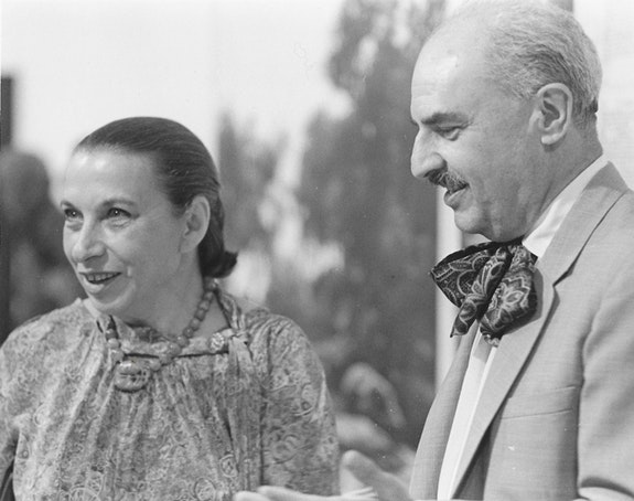 Dorothea and Leo Rabkin in La Jolla, CA, 1982. Photo: Lauri Robert Martin. Courtesy the Rabkin Foundation.