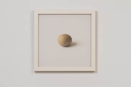 Kyoung eun Kang, A<em> skin ball (exfoliated skin collected from my mother and me while scrubbing our backs)</em><strong>, </strong>2012, Archival inkjet print, 10x10 inches. Courtesy the Artist.