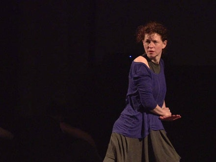 Apollonia Holzer in <em>White Ribbon.</em> Credit: Michael Stever (Stills from Video)
