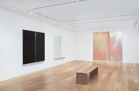 Pat Steir, <em>Kairos</em>, installation view. Courtesy of Lévy Gorvy. Photography by Tom Powel
