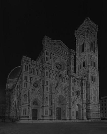 <p>Hiroshi Sugimoto, <em>Duomo, Florence</em>, 2016. Gelatin silver print. &copy; Hiroshi Sugimoto.</p>