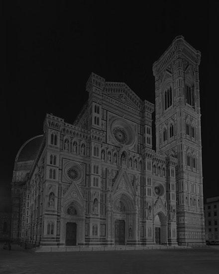 <p>Hiroshi Sugimoto, <em>Duomo, Florence</em>, 2016. Gelatin silver print. © Hiroshi Sugimoto.</p>