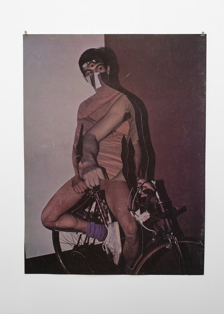 Troy Michie, <em>La Bicicleta</em>, 2015. Cut digital inkjet prints. 42 x 31 ½ inches. Courtesy the artist.