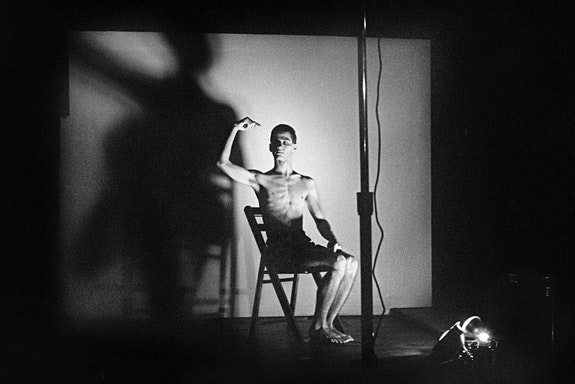 <p>Acts of Live Art at Club 57. Pictured: Larry Ashton. 1980. Photograph by and courtesy Joseph Szkodzinski.</p>