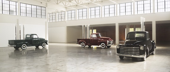 <p>Walter De Maria, <em>Truck Trilogy</em>, 2011–17. Installation view, Dia:Beacon, Beacon, New York. © Estate of Walter De Maria. Photo: Bill Jacobson Studio, New York. Courtesy Dia Art Foundation, New York.</p>