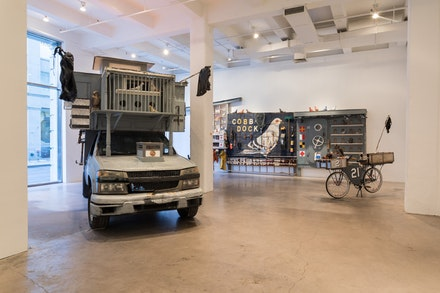 <p>Duke Riley, Installation view: September 27 - October 21, 2017. Magnan Metz Gallery. Photo: Courtesy of the Artist and Magnan Metz Gallery.</p>