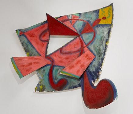 Elizabeth Murray<em>, Not Goodbye</em>, 1985. Oil on canvas, 69 x 80 x 12. Photo: Tom Barratt, courtesy Pace Gallery &copy; 2017 The Murray-Holman Family Trust / ArtistsRights Society (ARS), New York