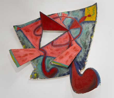 Elizabeth Murray<em>, Not Goodbye</em>, 1985. Oil on canvas, 69 x 80 x 12. Photo: Tom Barratt, courtesy Pace Gallery &copy; 2017 The Murray-Holman Family Trust / ArtistsRights Society (ARS), New York