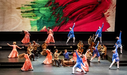 Mark Morris Dance, <em>Layla and Majnun</em>, Berkeley 2016. (Photo: Susana Millman)