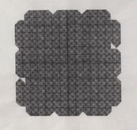 Linda Francis, <em>Undecidable,</em> silkscreen on Japanese paper, 2014.