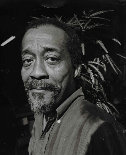 Norman Lewis, April 1971. Photograph © Gary Schoichet. Courtesy the Estate of Norman W. Lewis and Michael Rosenfeld Gallery LLC, New York, NY