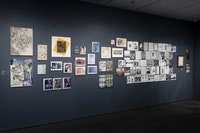 <p>Installation view of<em>Club 57: Film, Performance, and Art in the East Village, 1978–1983,</em>The Museum of Modern Art, New York, October 31, 2017-April 1, 2018. © 2017 The Museum of Modern Art. Photo: Robert Gerhardt</p>