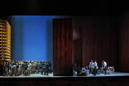<p><em>The Exterminating Angel</em> at the Metropolitan Opera. Photo by Ken Howard.</p>