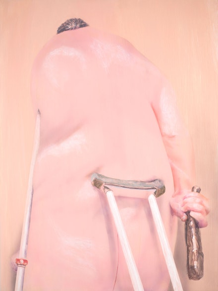 Robert Feintuch, <em>Fat Hercules</em>, 2011. Polymer emulsion on honeycomb panel, 30 x 22 1/2 inches. Courtesy Sonnabend Gallery, New York; Howard Yezerski Gallery, Boston; Zevitas/Marcus Gallery, Los Angeles; and the artist.