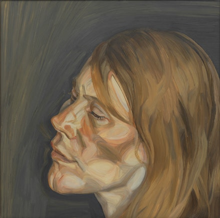 Lucian Freud, <em>Woman with Fair Hair – Portrait II</em>, 1962 – 63.