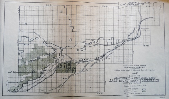 Allotments and Cultivated Land, 1914. Courtesy the author.