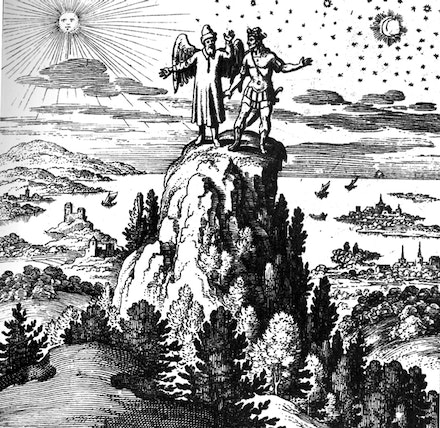 Lambsprinck, <em>De lapide philosophico</em>–The Sun Returns (at the bottom of the Vessel), c. 1625